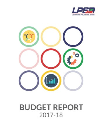 Click image to download 2017-18 Budget Report
